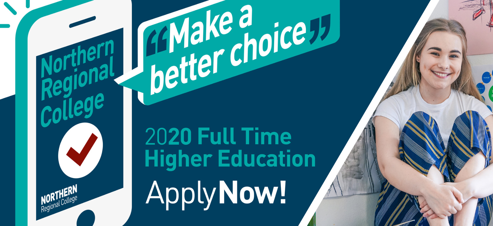 Applications for 2020 Full-time Higher Education courses are now available