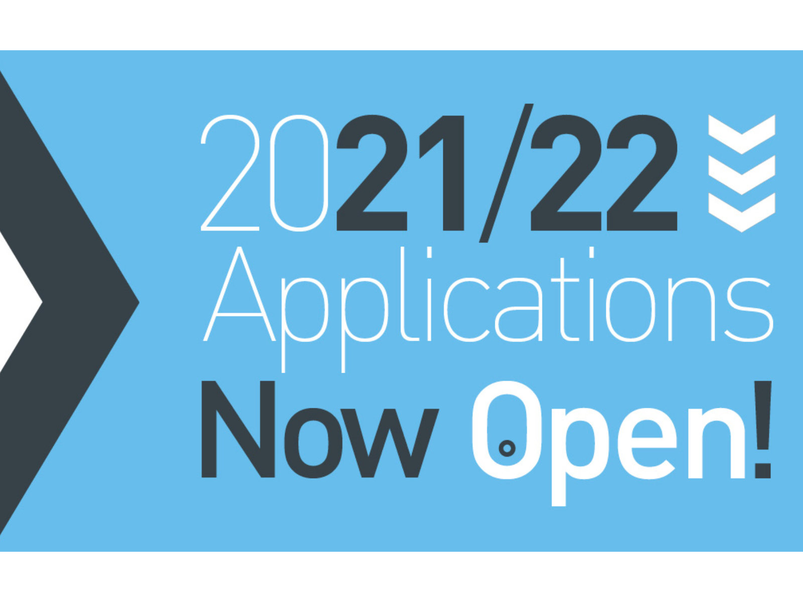 2021-21 Applications now open