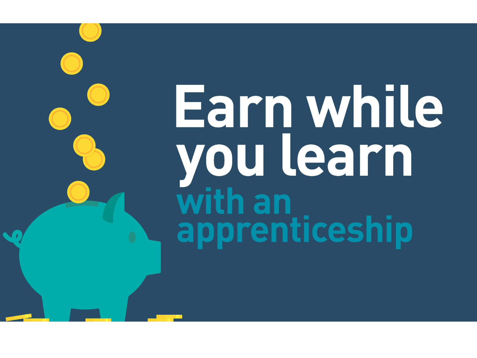 Earn while you learn with an apprenticeship