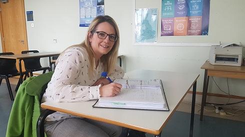 Student profile of Kara Mitchell