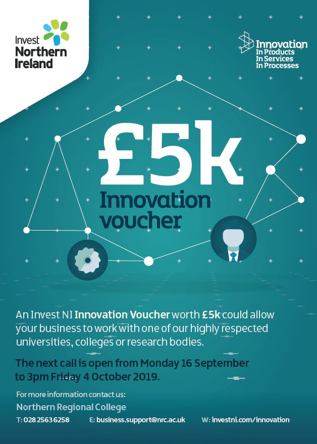 Invest Northern Ireland - £5k Innovation voucher
