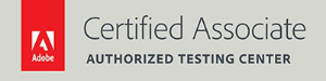 Adobe Certified Associate Authorised Testing Center logo