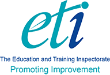 The Education and Training Inspectorate (ETI) logo
