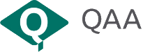 The Quality Assurance Agency for Higher Education (QAA) logo