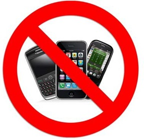 No mobile devices